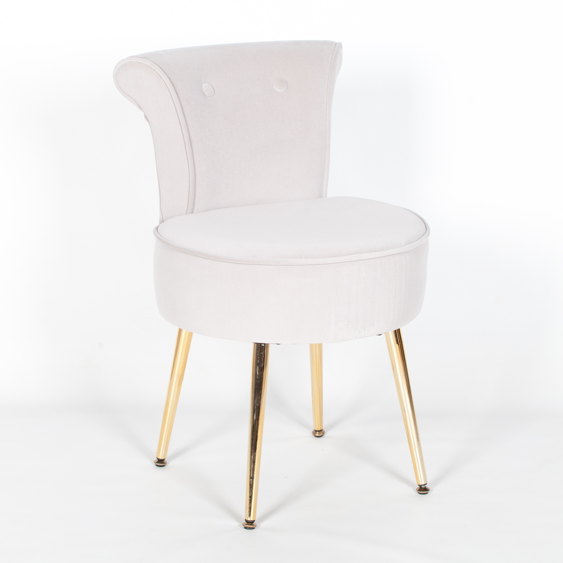 Cool Grey Stool Bedroom Chair With Gold Legs Machost Co Dining Chair Design Ideas Machostcouk
